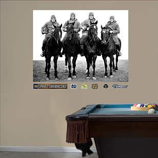 Notre Dame - Four Horsemen Mural