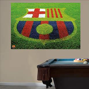 FCBarcelona Grass Crest Mural