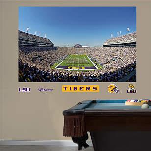 LSU Tigers - Tiger Stadium Mural