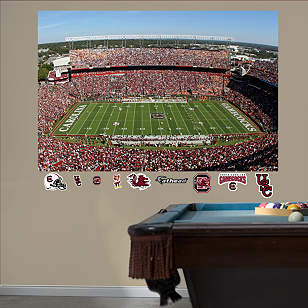 South Carolina - Williams-Brice Stadium Mural