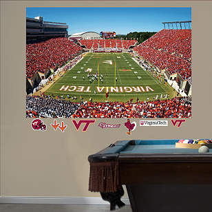 Virginia Tech - Lane Stadium Mural