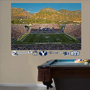 BYU - LaVell Edwards Stadium Mural