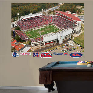 Ole Miss Rebels - Vaught-Hemingway Stadium Mural