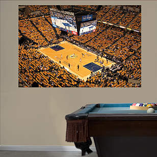 Indiana Pacers Arena Mural