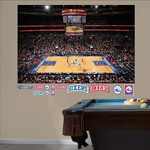 Philadelphia 76ers Arena Mural