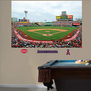 Inside Angel Stadium of Anaheim Mural