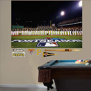 Pittsburgh Pirates 2013 Postseason Lineup Mural