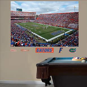 Florida Gators Ben Hill Griffin Stadium - The Swamp Mural