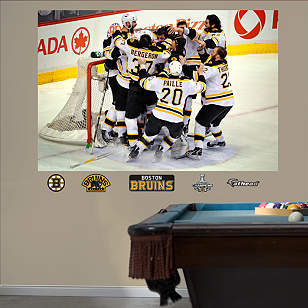 Boston Bruins Stanley Cup Celebration Mural