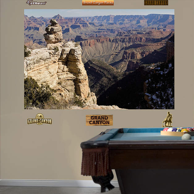 Grand canyon mural wall decal shop fathead for general - Grand calendrier mural ...
