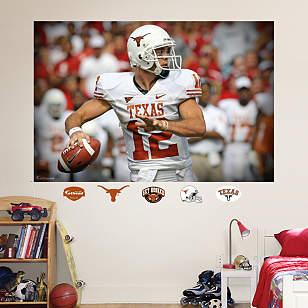 Colt McCoy Texas Mural