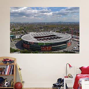 Aerial Emirates Stadium Mural