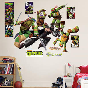 Teenage Mutant Ninja Turtles Shredder Battle