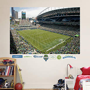 Seattle Sounders Stadium Mural