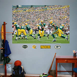 Packers Backfield In Your Face Mural
