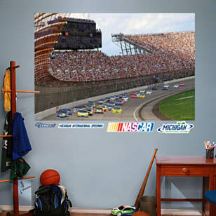 Michigan International Speedway Mural