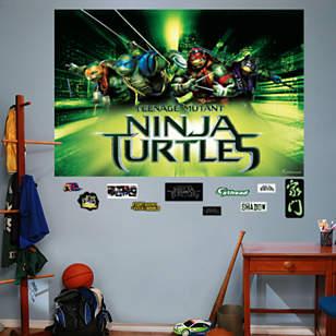 Teenage Mutant Ninja Turtles Movie Mural