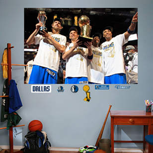 Dallas Mavericks NBA Finals Champions Mural