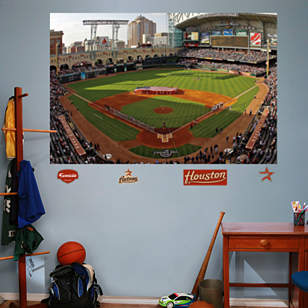 Inside Minute Maid Park Mural