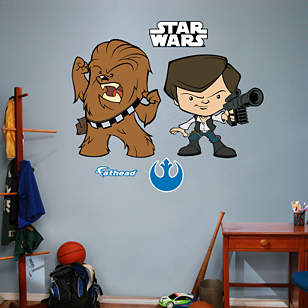 Han Solo & Chewbacca POP!