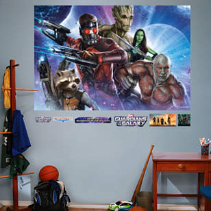 Guardians of the Galaxy - Heroes Mural