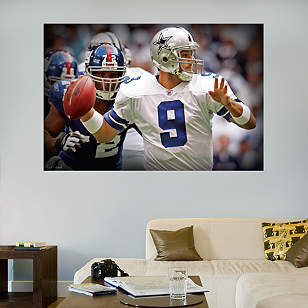 Tony Romo In Your Face Mural