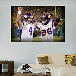 Favre-Peterson Celebration Mural