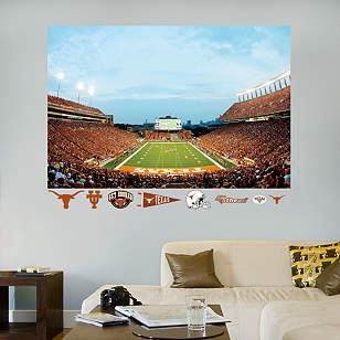 Darrell K Royal - Texas Memorial Stadium Mural