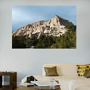 New Mexico Mountain Peaks Mural