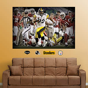 James Harrison Super Bowl Touchdown Mural