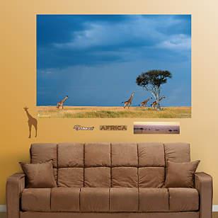 African Savanna Mural
