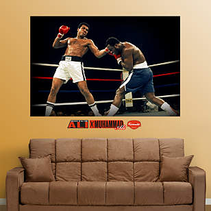 Ali-Frazier Fight Mural