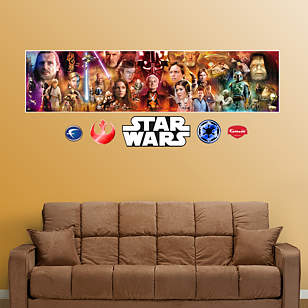 Star Wars Movie Mural