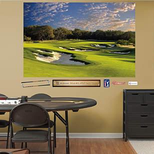 PGA TOUR TPC San Antonio AT&T Oaks Hole 11 Mural