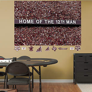 Texas A&M Aggies - 12th Man Mural