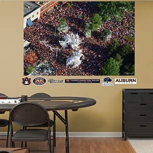 Auburn Tigers: Toomer's Corner Aerial Mural
