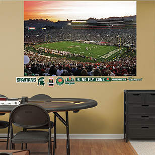 Michigan State Spartans - 2014 Rose Bowl Mural