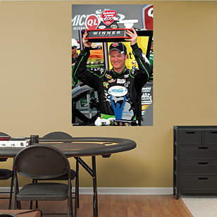 Dale Earnhardt Jr. Quicken Loans 400 Trophy Mural