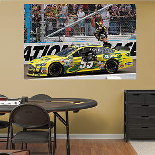 Carl Edwards Flip Mural