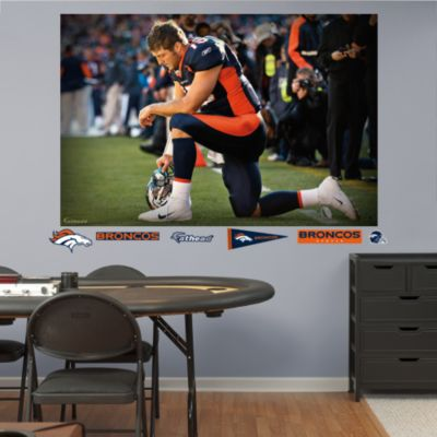 Peyton Manning - Bound for Denver Mural Fathead Wall Decal