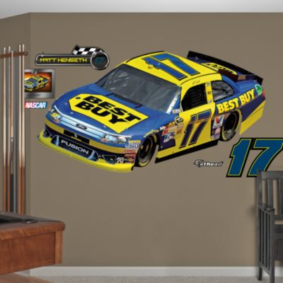 Denny Hamlin 2013 FedEx Car Fathead Wall Decal