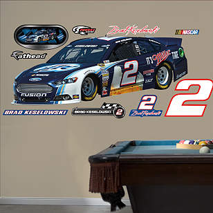 Brad Keselowski 2013 Miller Lite #2 Car