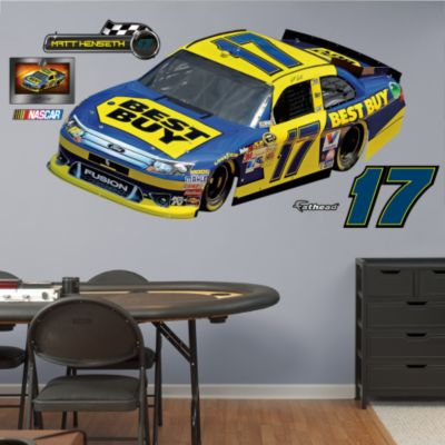 Kevin Harvick 2014 Budweiser #4 Car Fathead Wall Decal