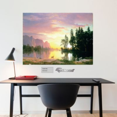 Yosemite Valley by Albert Bierstadt Fathead Wall Decal
