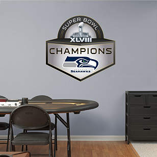 Seattle Seahawks Super Bowl XLVIII Champions Logo