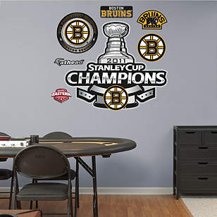 Boston Bruins 2011 Stanley Cup Champions Logo