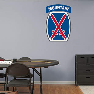 10th Mountain Insignia Logo