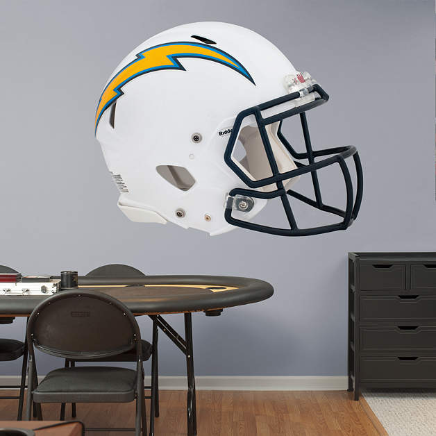 San Diego Chargers Helmet Decals: San Diego Chargers Helmet Fathead Wall Decal