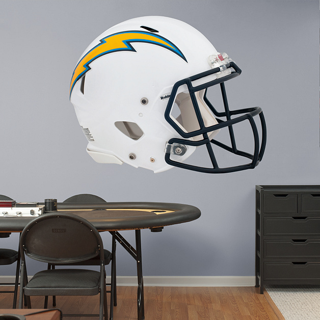 San Diego Chargers Helmet Decals: San Diego Chargers Helmet Wall Decal
