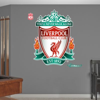 Bradley Braves Logo Fathead Wall Decal